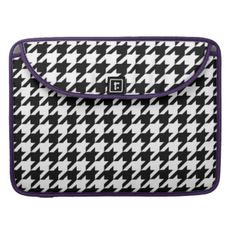 Houndstooth - Customize Background Color Sleeves For MacBooks