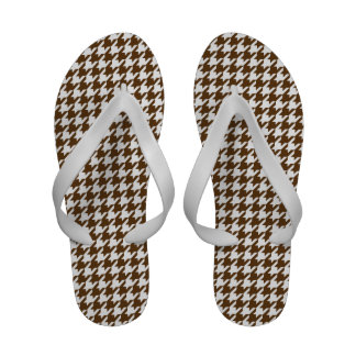 Houndstooth Flip-Flops