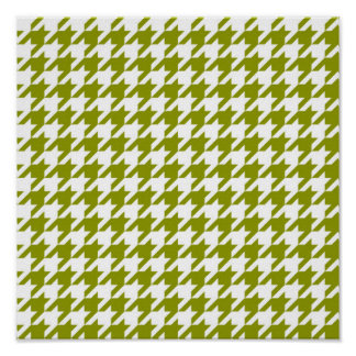 houndstooth green (I) Poster