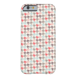 Houndstooth Malbec Barely There iPhone 6 Case