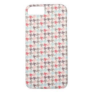 Houndstooth Malbec iPhone 7 Case