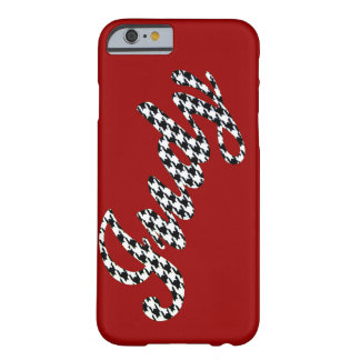 Houndstooth Name Judy Barely There iPhone 6 Case
