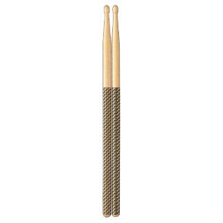 Houndstooth Pattern Drum Sticks