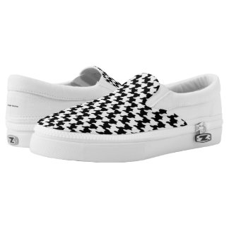 Houndstooth Pattern Shoes