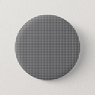 Houndstooth Personalized 2 Inch Round Button
