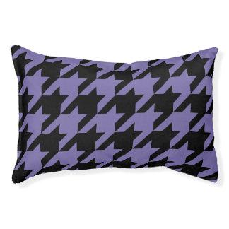 Houndstooth Pet Bed (Violet)