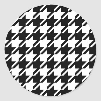 Houndstooth Stickers