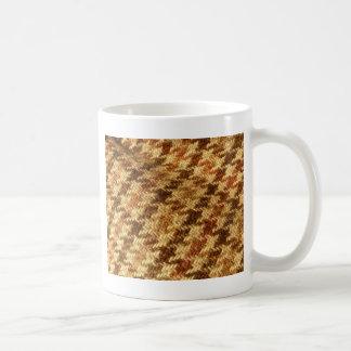 Houndstooth Tweed Mug