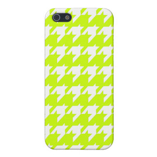 Houndstooth yellow iPhone 5 covers