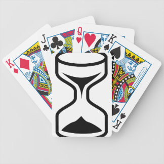 Hourglass Bicycle Playing Cards