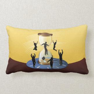 Hourglass Business Lumbar Pillow