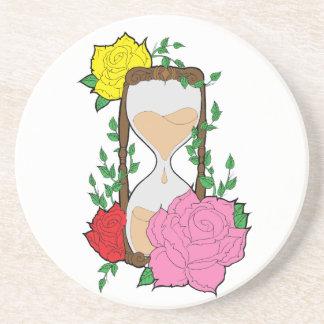 Hourglass Coaster