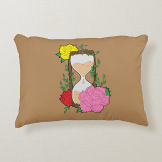 Hourglass Decorative Pillow