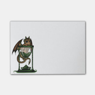 Hourglass Dragon Post-it® Notes