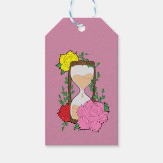 Hourglass Gift Tags