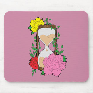 Hourglass Mouse Pad