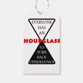 Hourglass Pack Of Gift Tags
