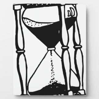 Hourglass Plaque