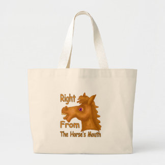 Hourse's Mouth Shirt Large Tote Bag