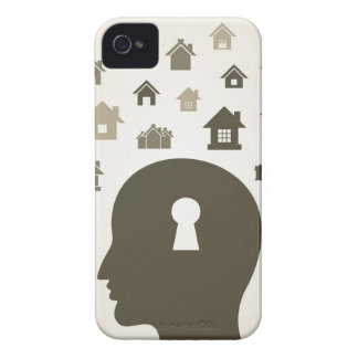 House a head Case-Mate iPhone 4 case