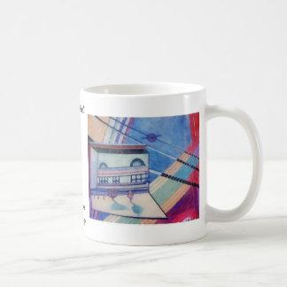 House Abstract CricketDiane Art & Design Basic White Mug