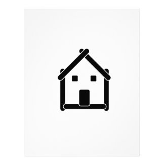 House abstract real estate countryside letterhead