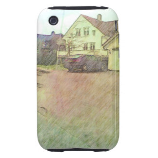 house and car iPhone 3 tough covers