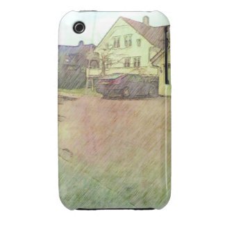 house and car Case-Mate iPhone 3 cases