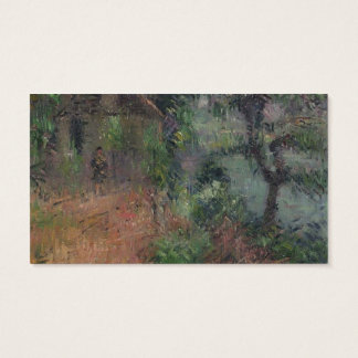 House at Beynac by Gustave Loiseau Business Card