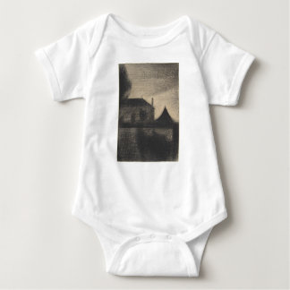 House at Dusk (La Cité) Baby Bodysuit