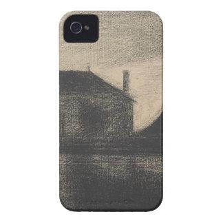House at Dusk (La Cité) iPhone 4 Cases
