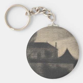 House at Dusk (La Cité) Keychain