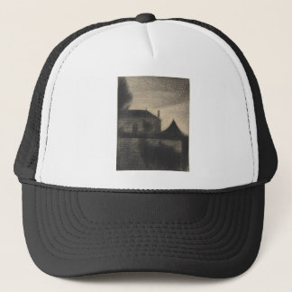 House at Dusk (La Cité) Trucker Hat