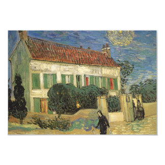 House at Night Vincent van Gogh, Change of Address Card