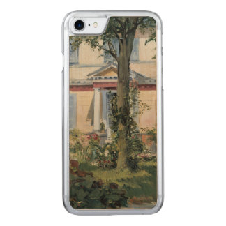 House at Rueil by Edouard Manet Carved iPhone 7 Case