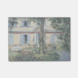 House at Rueil by Edouard Manet Post-it Notes