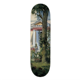 House at Rueil by Edouard Manet Skate Board Deck