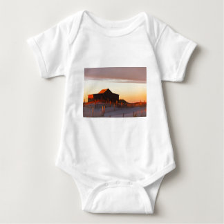 House at Sunset - 1 Baby Bodysuit