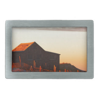 House at Sunset - 1 Belt Buckle