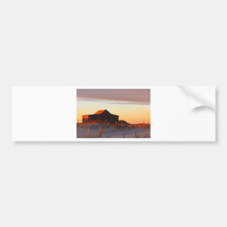 House at Sunset - 1 Bumper Sticker