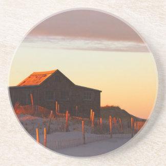 House at Sunset - 1 Coaster