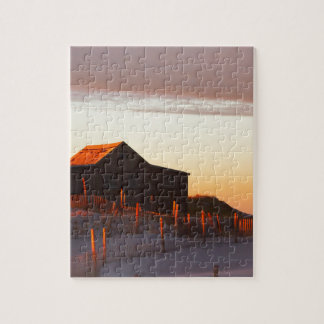 House at Sunset - 1 Jigsaw Puzzle