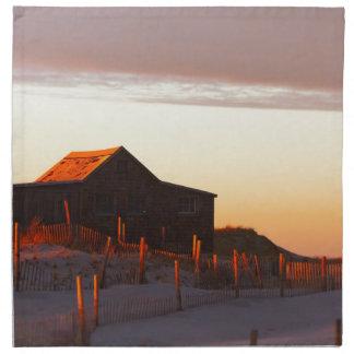 House at Sunset - 1 Napkin