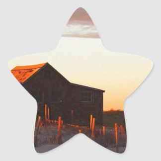 House at Sunset - 1 Star Sticker