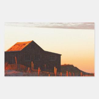 House at Sunset - 1 Sticker