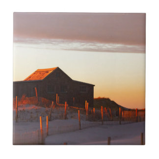 House at Sunset - 1 Tile
