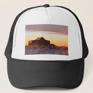 House at Sunset - 1 Trucker Hat
