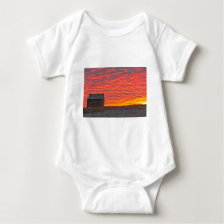 House at Sunset - 2 Baby Bodysuit