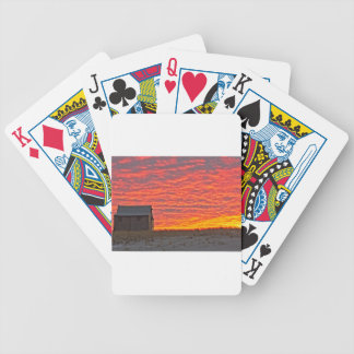 House at Sunset - 2 Bicycle Playing Cards