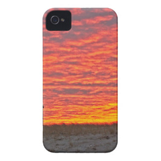House at Sunset - 2 iPhone 4 Case